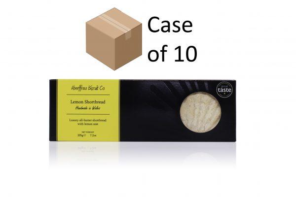 ABCR02 - Lemon Aberffraw Biscuits case of 10