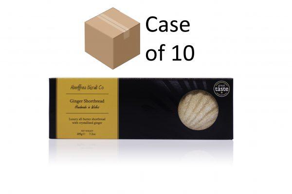 ABCR06 - Ginger Aberffraw Biscuits case of 10
