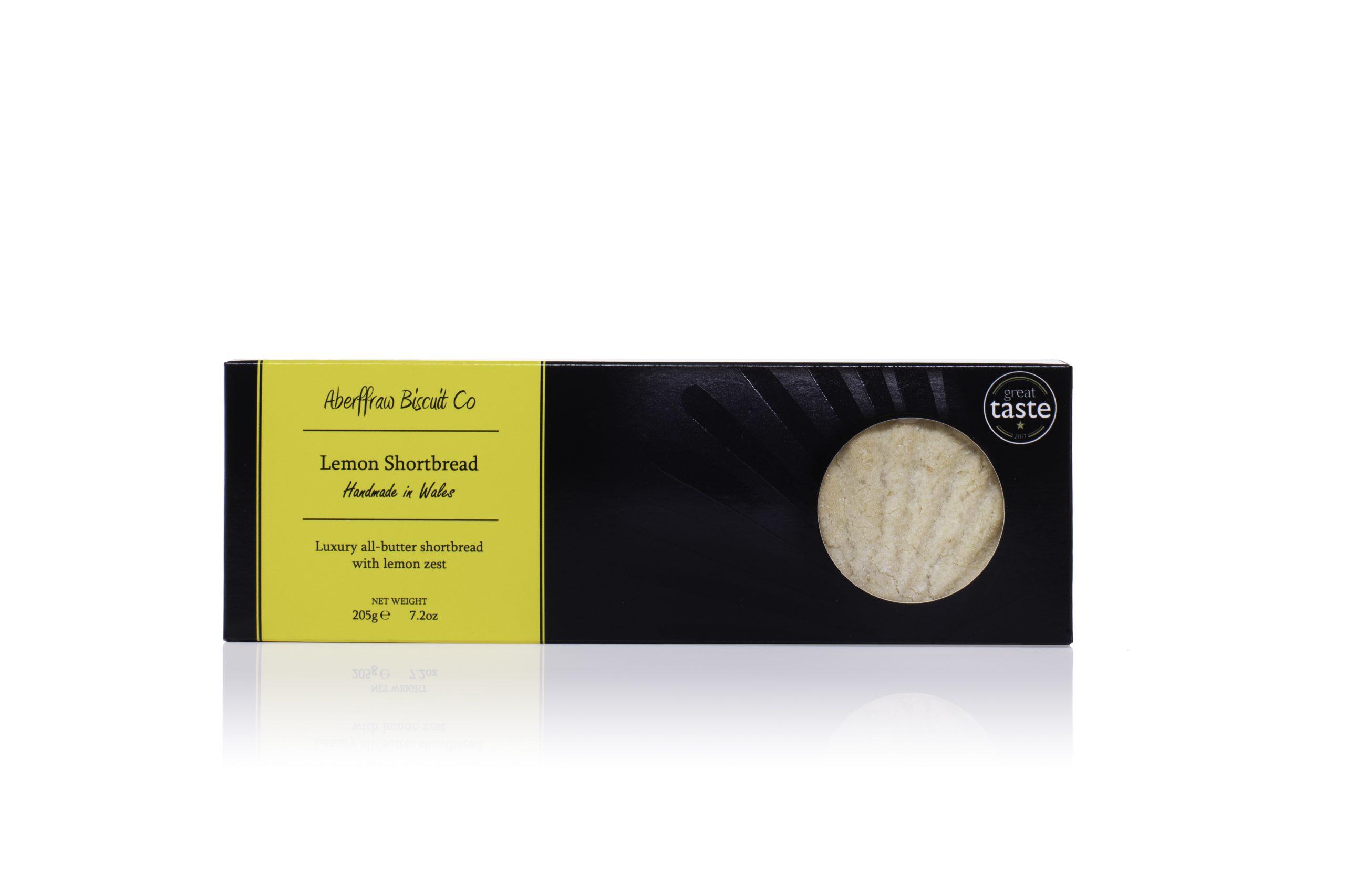 ABCR02 - Lemon Aberffraw Biscuits 205g box