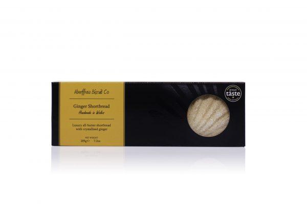 ABCR06 - Ginger Aberffraw Biscuits 205g box