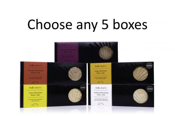 Aberffraw Biscuit Co choose any 5 boxes