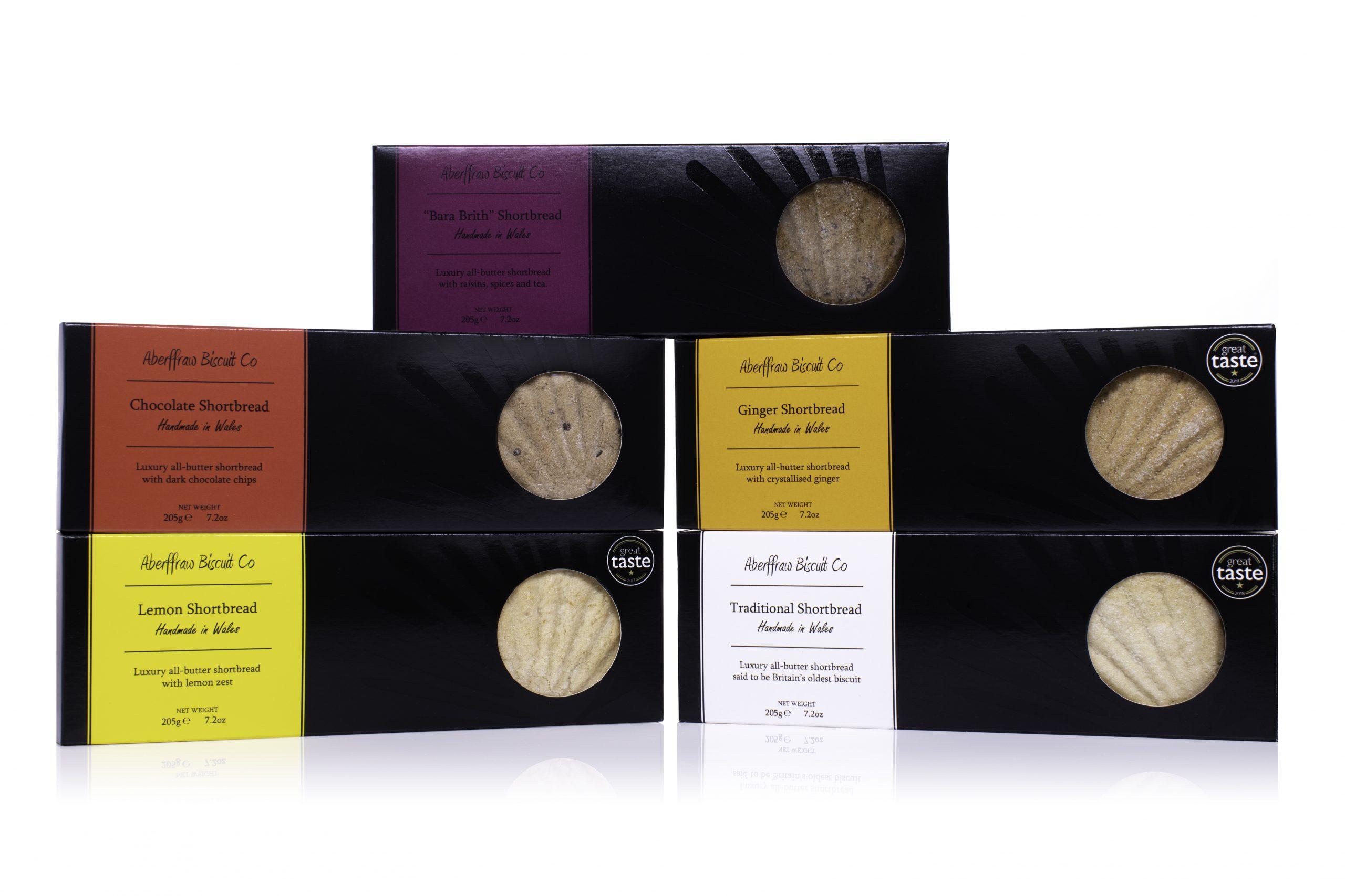 Aberffraw Biscuit Co gift box range