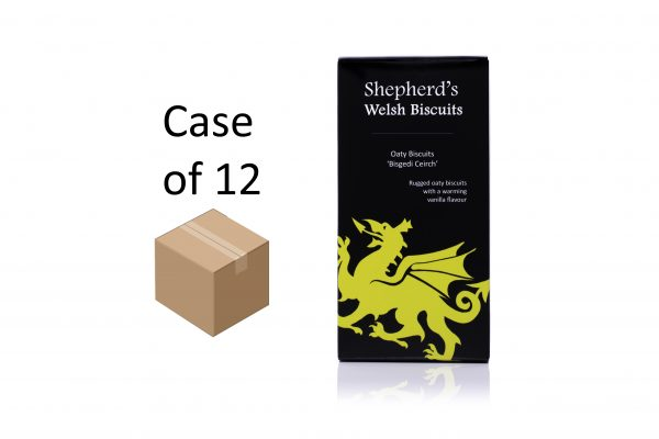 Shepherds Welsh Biscuits - Oaty 165g box case of 12