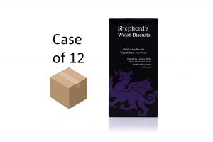 Shepherds Welsh Biscuits - Welsh Cake 165g box case of 12