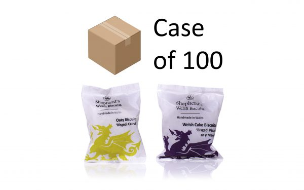 Shepherds Welsh Biscuits - twin-pack range case of 100